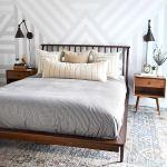 Mid Century Modern Bedroom Interior Design With Geometric Mid Century Modern Bedroom 1080x1621 Download Hd Wallpaper Wallpapertip