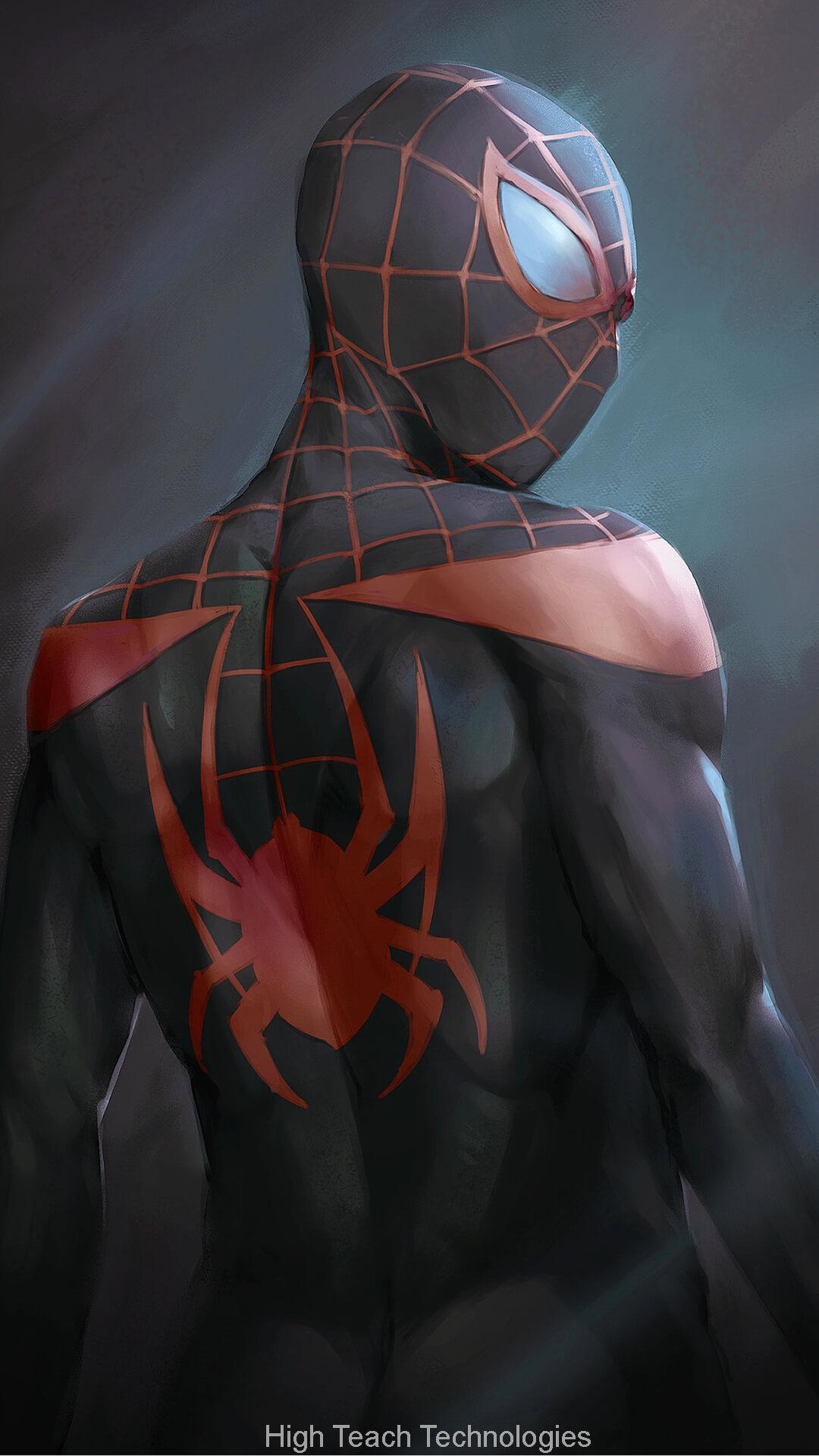 Spider Man Into The Spider Verse Download 1080x1920 Download Hd Wallpaper Wallpapertip
