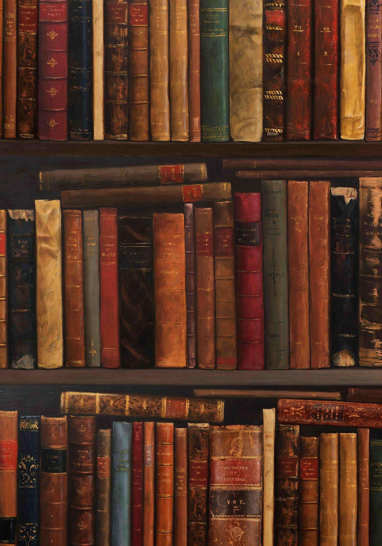 etagere ols pleine de livres fond d