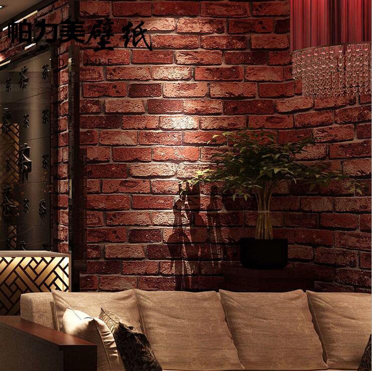 Simulation Culture Brick Brick Brick Chinese Wallpaper Red Brick Wallpaper For Living Room 741x740 Download Hd Wallpaper Wallpapertip
