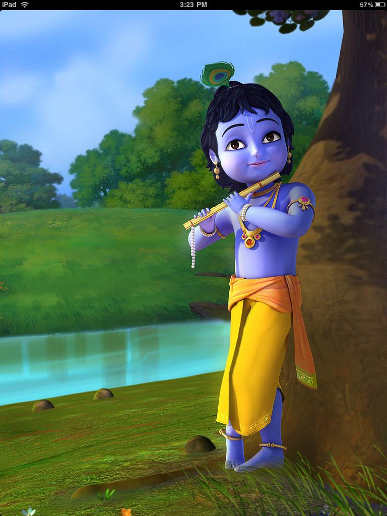 Little Krishna Pics Cartoon Collection Full Hd Little Krishna 768x1024 Download Hd Wallpaper Wallpapertip