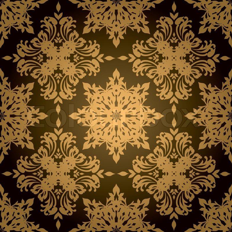 Bisogna soltanto trovare il prodotto giusto. Design Della Carta Da Parati Nero E Oro Carta Da Parati Gotica 800x800 Wallpapertip