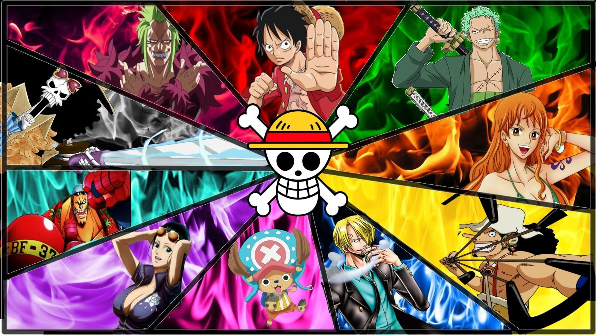 The view from your computer may not be ideal, but even if you can't see the world in reality you can easily shift your desktop to another part of the world with a great image. One Piece Anime Background - 1920x1080 - Download HD ...