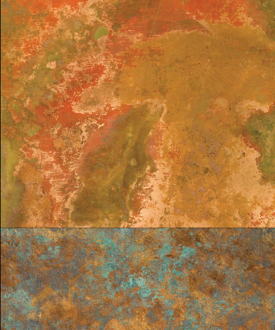 papier peint cuivre papier peint