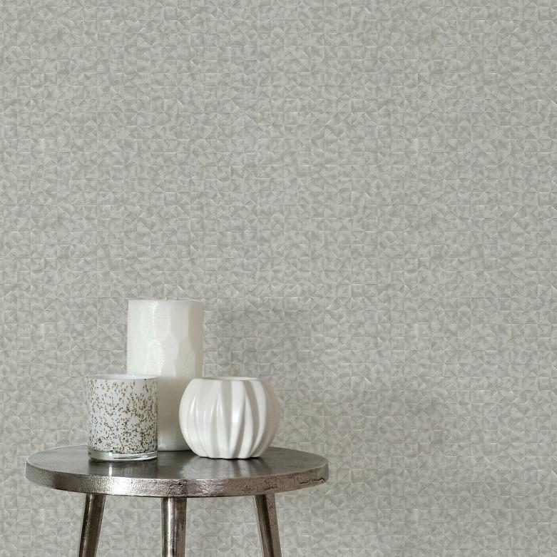 table basse papier peint a theme gris