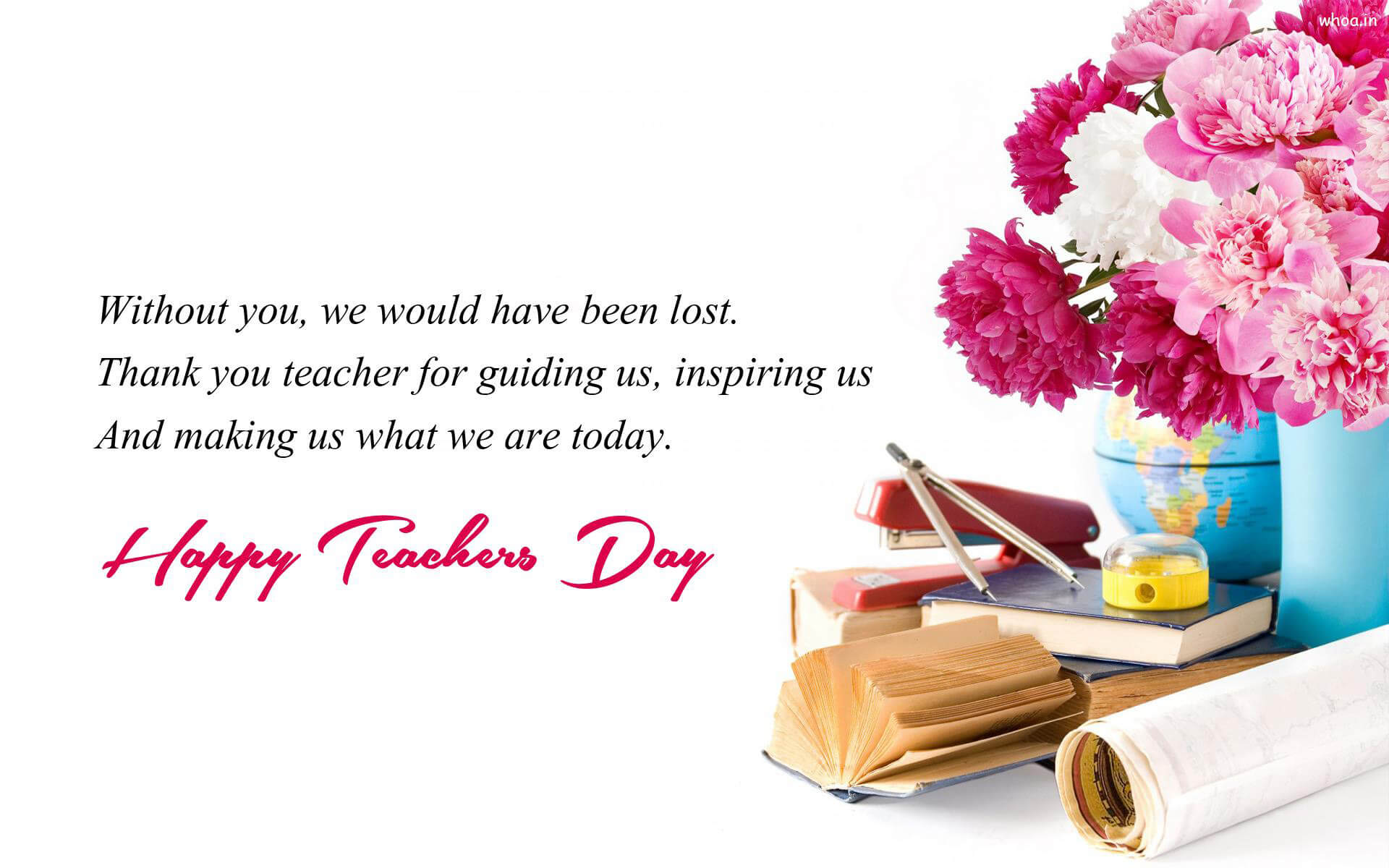 Happy Teachers Day Wishes Cute Best Hd Wallpaper Inspirational Thank You Teachers Day Quotes 1920x1200 Download Hd Wallpaper Wallpapertip
