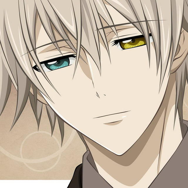 Anime Boy Two Different Colored Eyes 640x640 Download Hd Wallpaper Wallpapertip