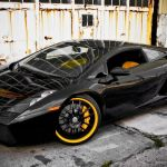 Black And Yellow Lamborghini Wallpaper 2560x1600 3428 Wallpaperup