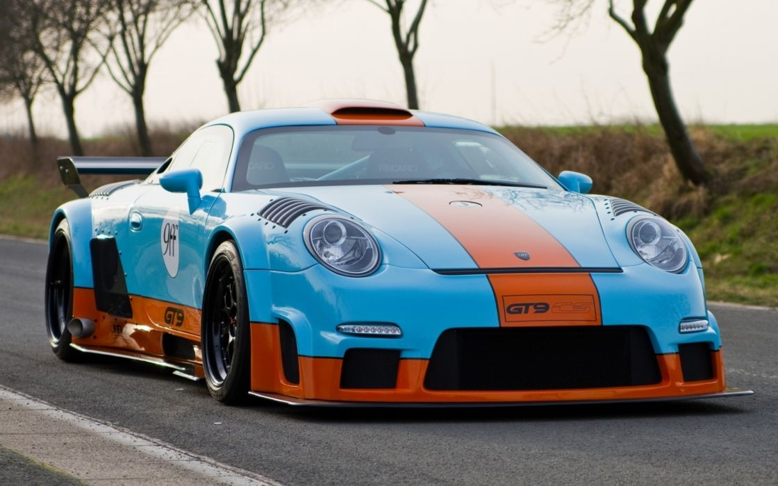 Porsche Race Car Wallpaper 1920x1080 9ff Gt9 Cs Porsche 911 997 Turbo Racecar Race Racing Color