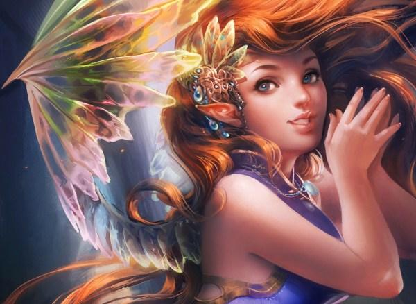 Fantasy Fairy Women Art Wallpaper 1920x1402 28851 Wallpaperup