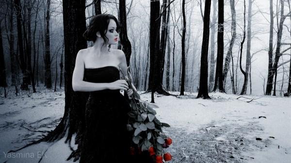 Mood Gothic Pale Bouquet Roses Love Romance Nature