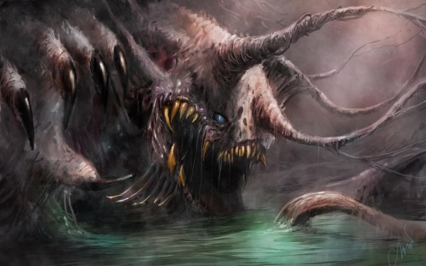 Creepy Creature Scary Monster Wallpapers HD