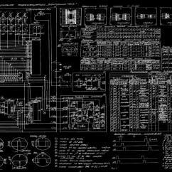 Cat 5a Wiring Diagram Circle Powerpoint Template Blueprint Bw Russian Schematic Wallpaper