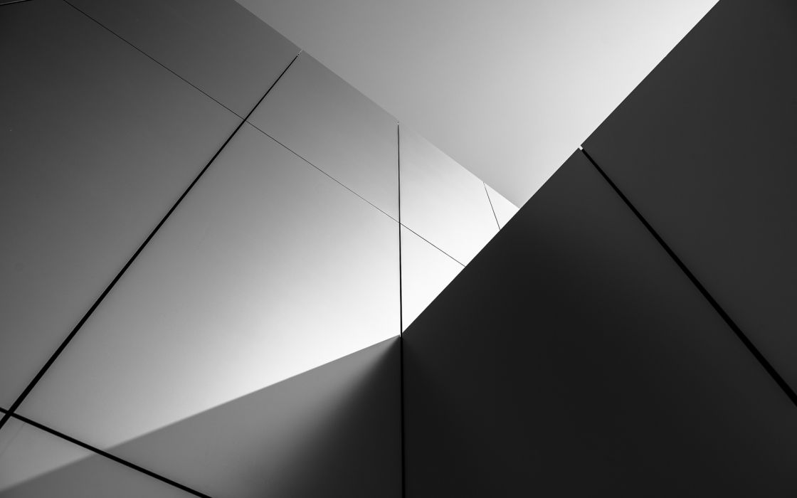 buildings wall abstract black