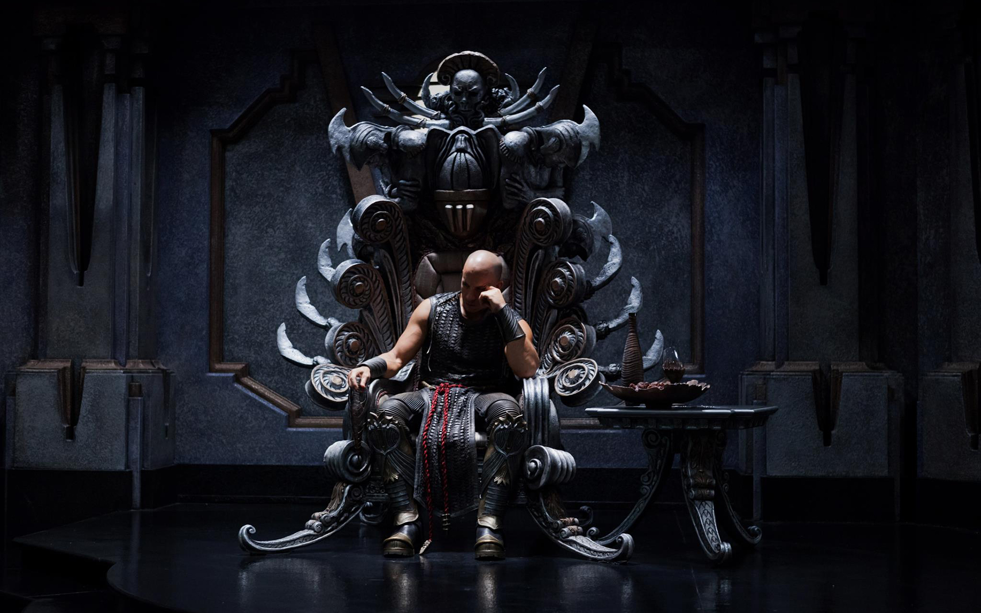 iron throne chair cover most ergonomic vin diesel riddick wallpaper 1920x1200 46436