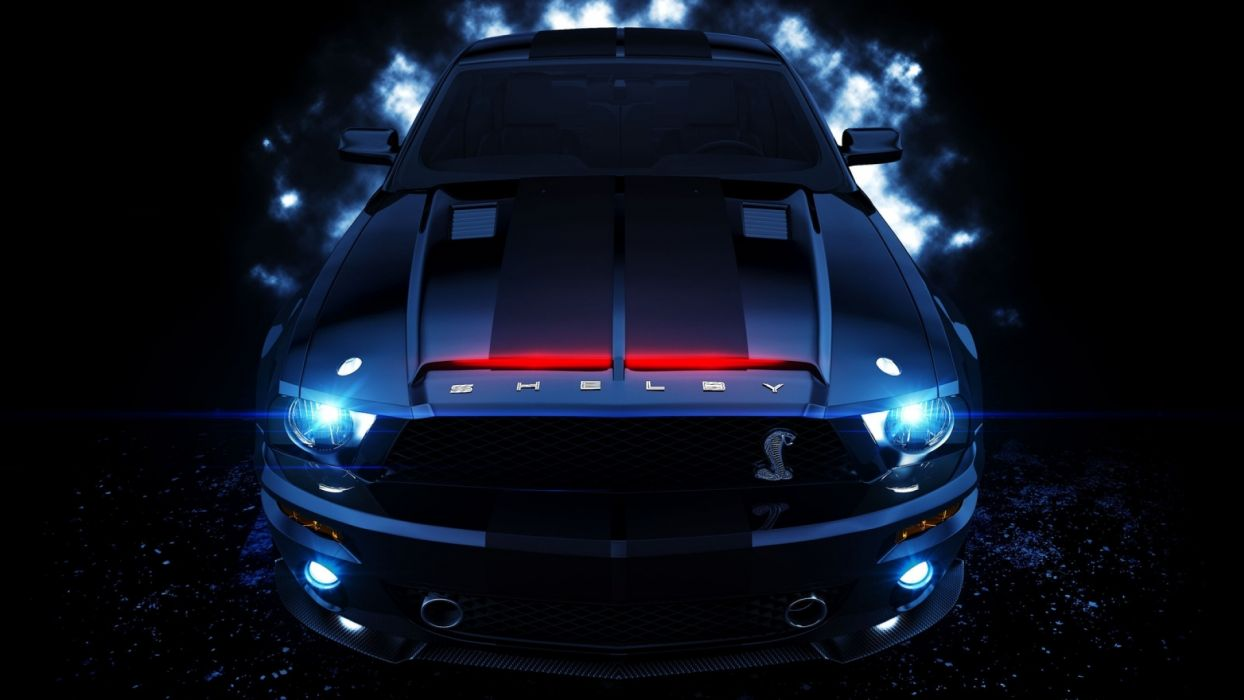 If you were looking for cool car live wallpaper then this cool car apps is what. Ford Mustang Shelby Gt Muscle Cars Wallpaper 1920x1080 48333 Wallpaperup