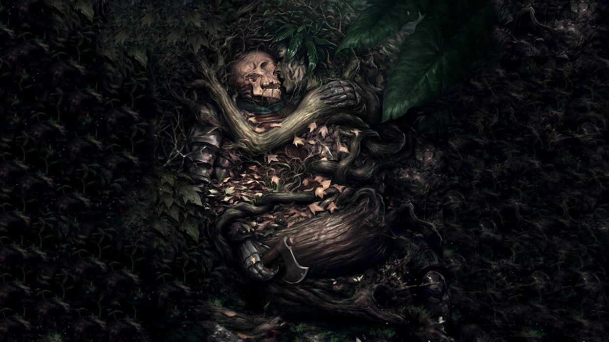 Angel Girl And Skulls Wallpaper Dark Gothic Fantasy Skull Mood Love Death Sad Sorrow