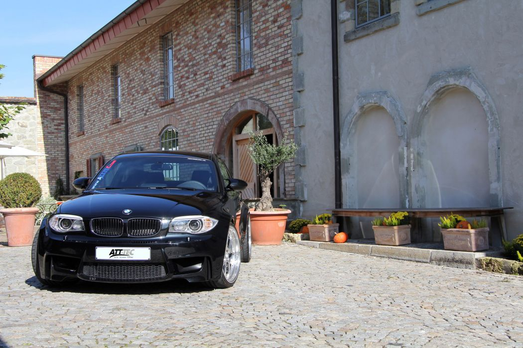 2012 Att Tec Bmw 1 Series M Coupe Coupe Tuning Q Wallpaper
