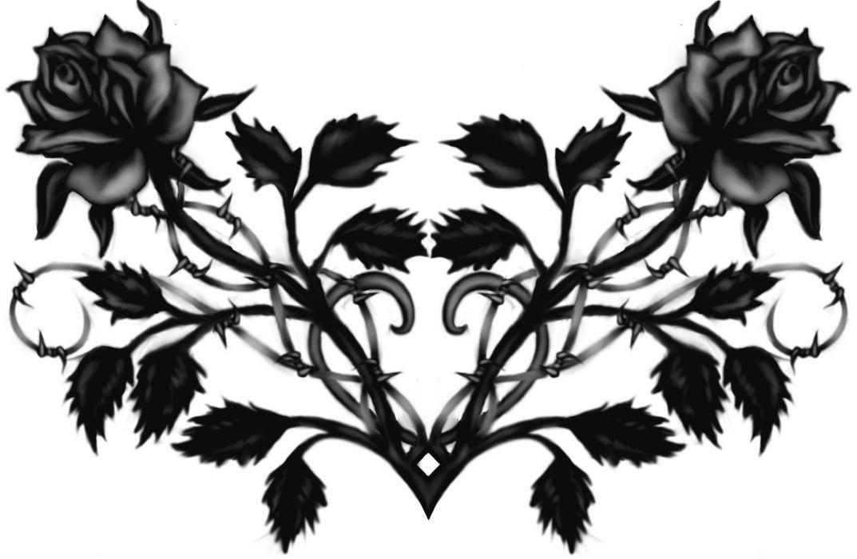 gothic flowers wallpaper 1727x1127