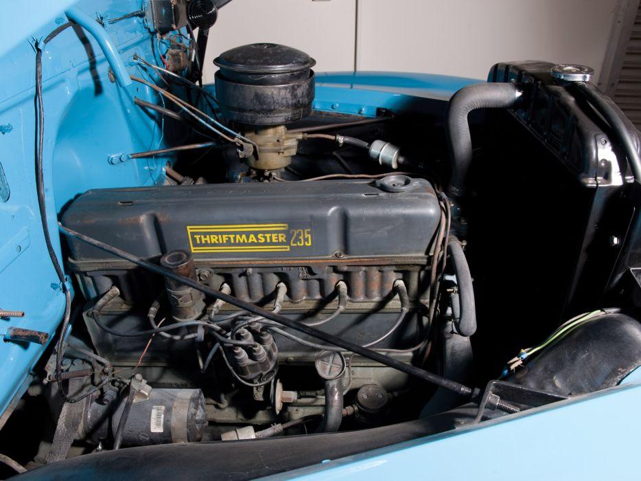 Chevrolet Starter Wiring Diagram 1954 Chevrolet 3100 Pickup Truck Retro Engine Engines