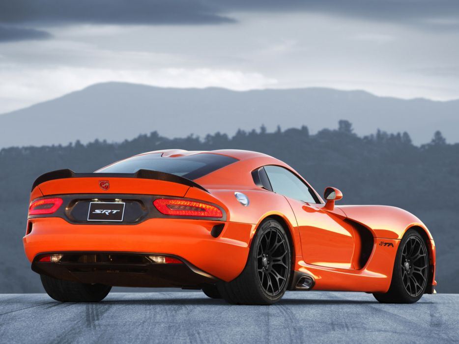 2014 Dodge Srt Viper T A Supercar Supercars Muscle D Wallpaper