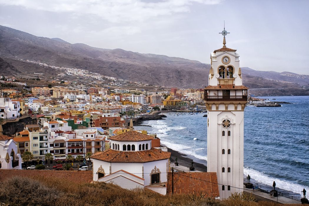 Candelaria Santa Cruz De Tenerife Spain Wallpaper