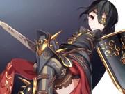 original armor atha black hair