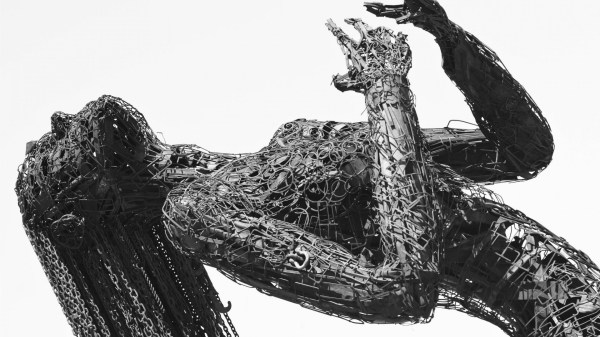 Female Metal Sculpture