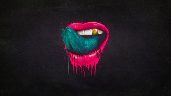 Mouth Tongue Splatter Lips Paint Wallpaper 1920x1080 136921 Wallpaperup