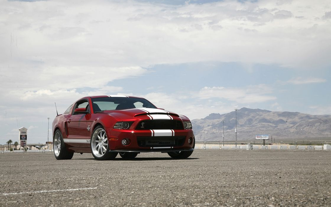 2013 Shelby Gt500 Super Snake Muscle Supercar Ford Mustang G