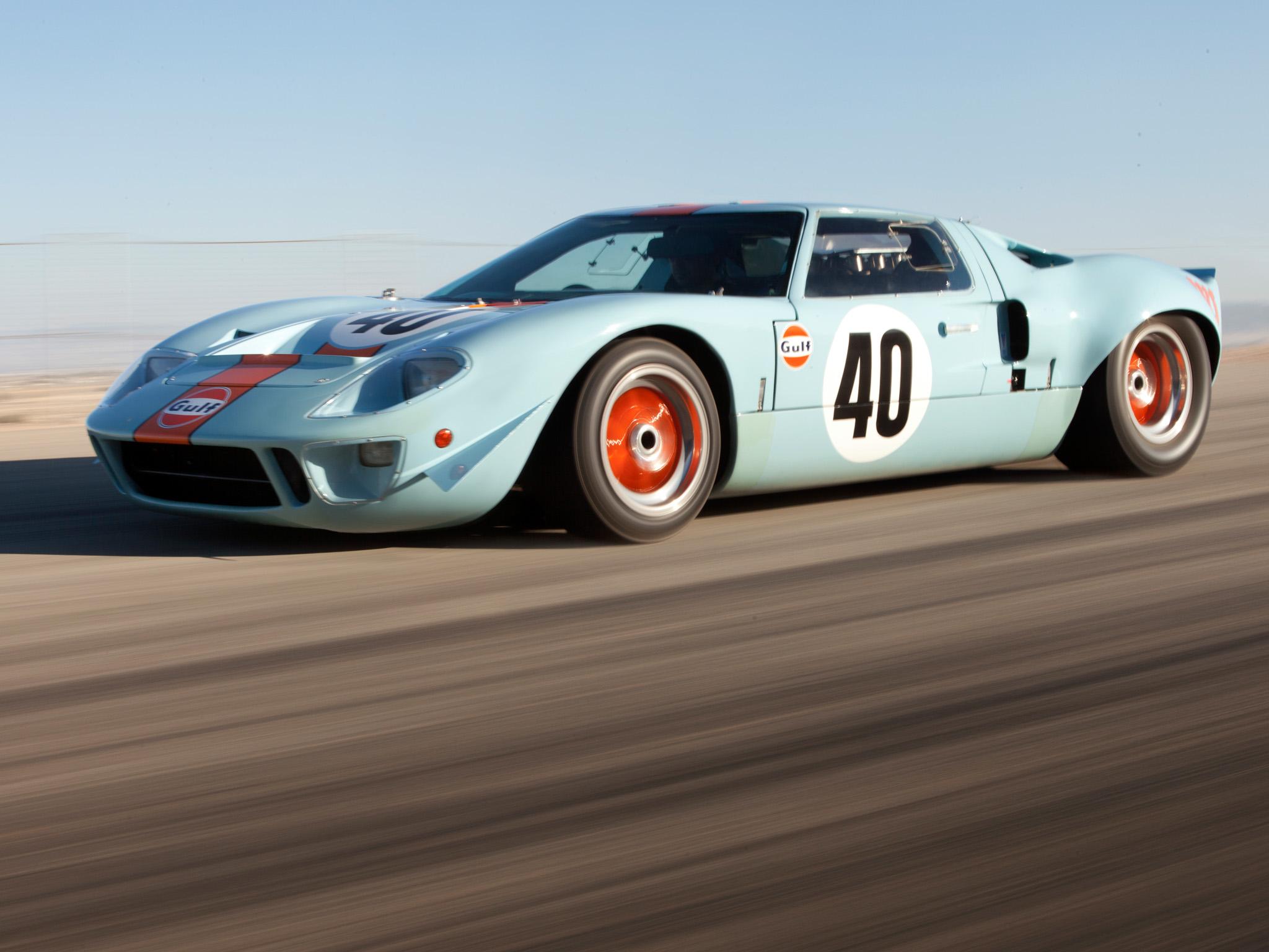 1966 Ford Gt40 Le Mans Winner
