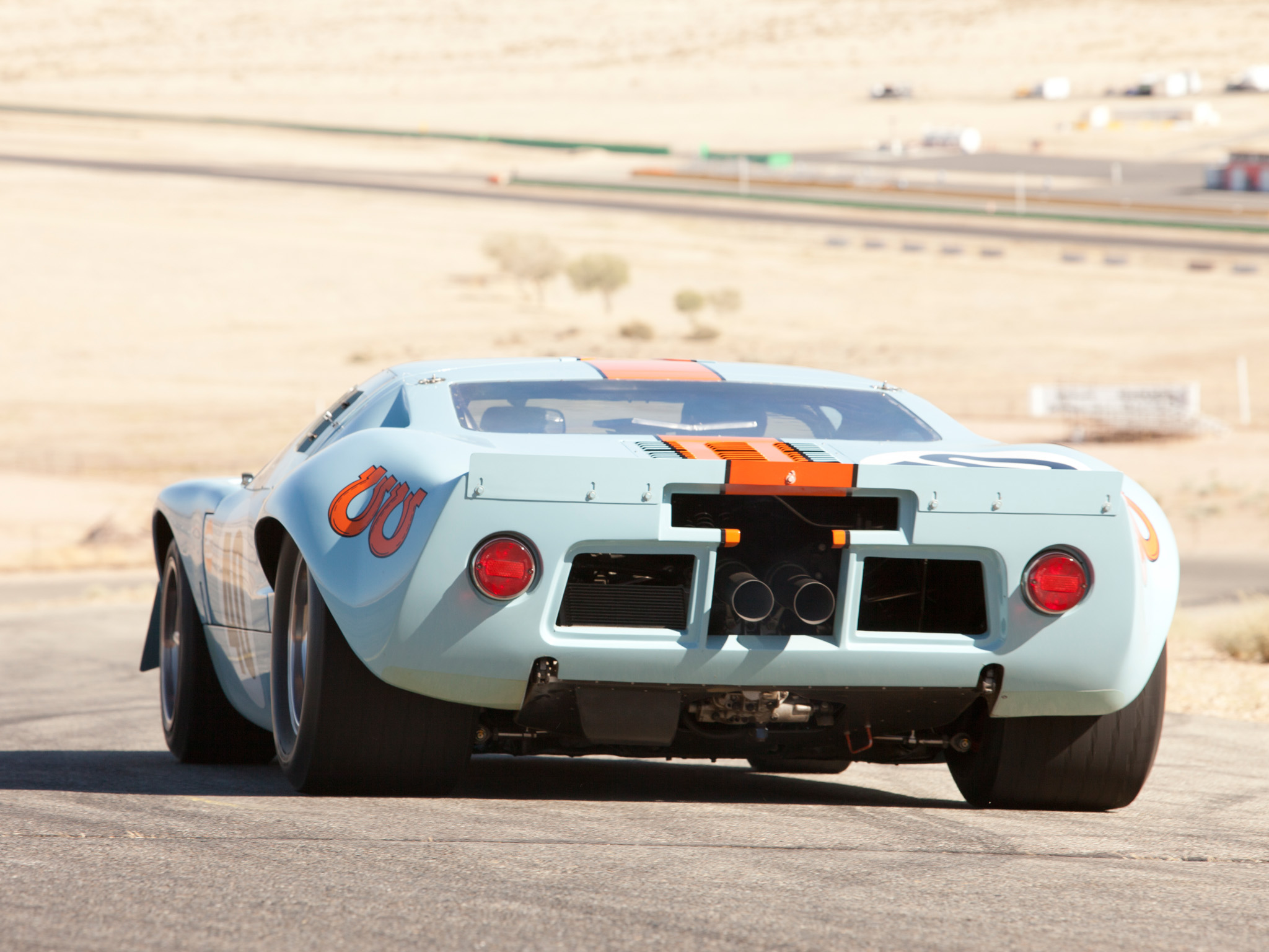 4k Car Wallpaper Mustang 1960 1968 Ford Gt40 Gulf Oil Le Mans Race Racing Supercar