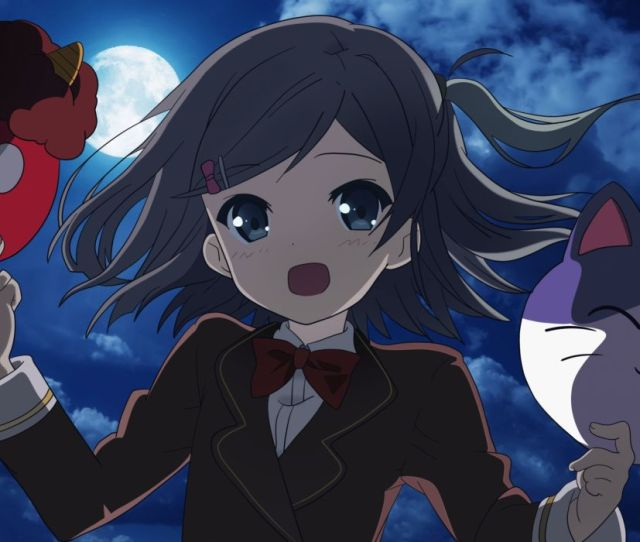 Hentai Ouji To Warawanai Neko Blue Eyes Blush Bow Clouds Gray Hair Hentai Ouji To Warawanai