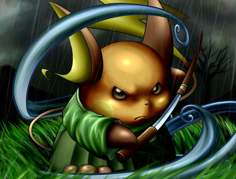 Pokemon Raichu Wallpaper 2480x1885 142925 Wallpaperup