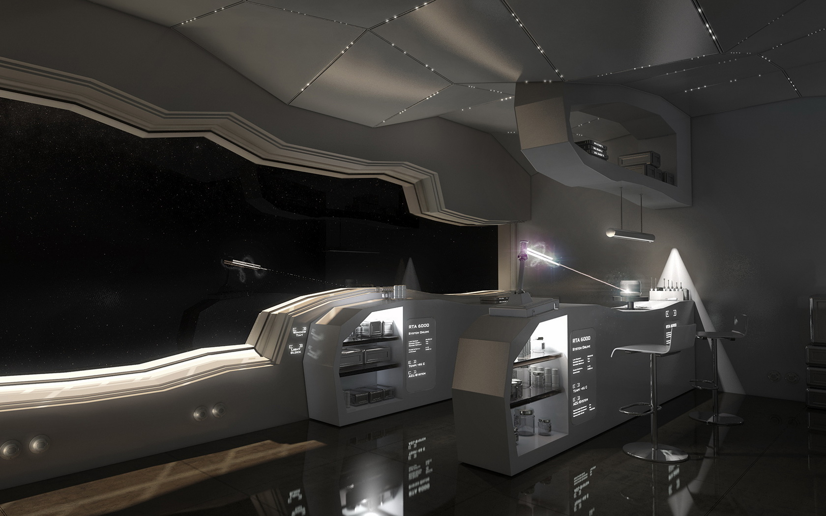 Space Ship Interior (page 2)