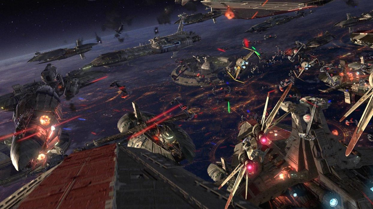 Fall Of Cybertron Wallpaper Star Wars Episode Iii Revenge Of The Sith Sci Fi Battle