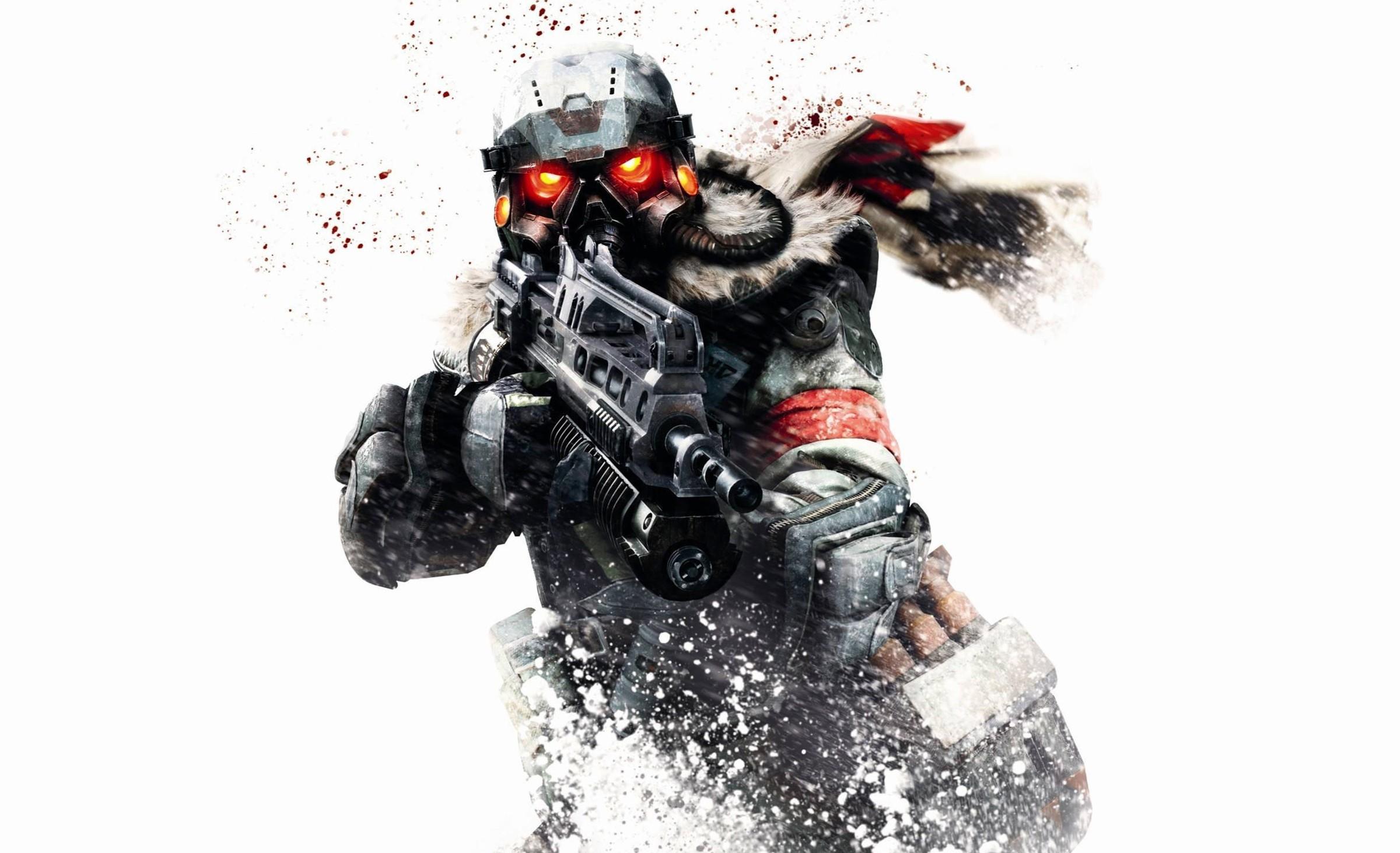Killzone Shadow Fall Wallpaper 1080p Killzone Warrior Soldier Sci Fi Weapon Gun Gas Mask G
