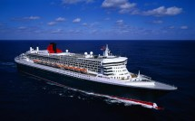 Ship Queen Mary 2 Transatlantic Ocean Liner Wallpaper