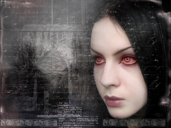 Gothic Goth Style Goth-loli Women Girl Dark Vampire