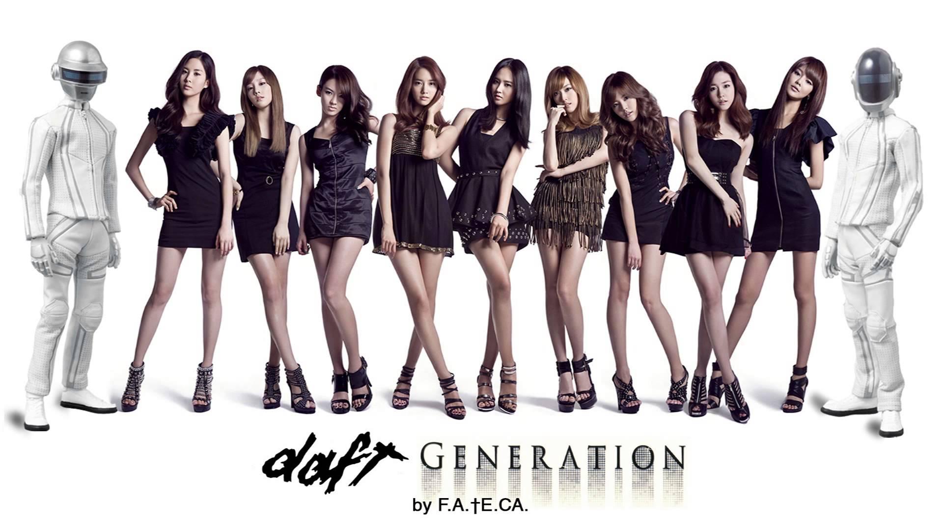 Korean Girl Wallpapers Hd Daft Punk Karlie Kloss Dubstep Dub Girls Generation Kpop K