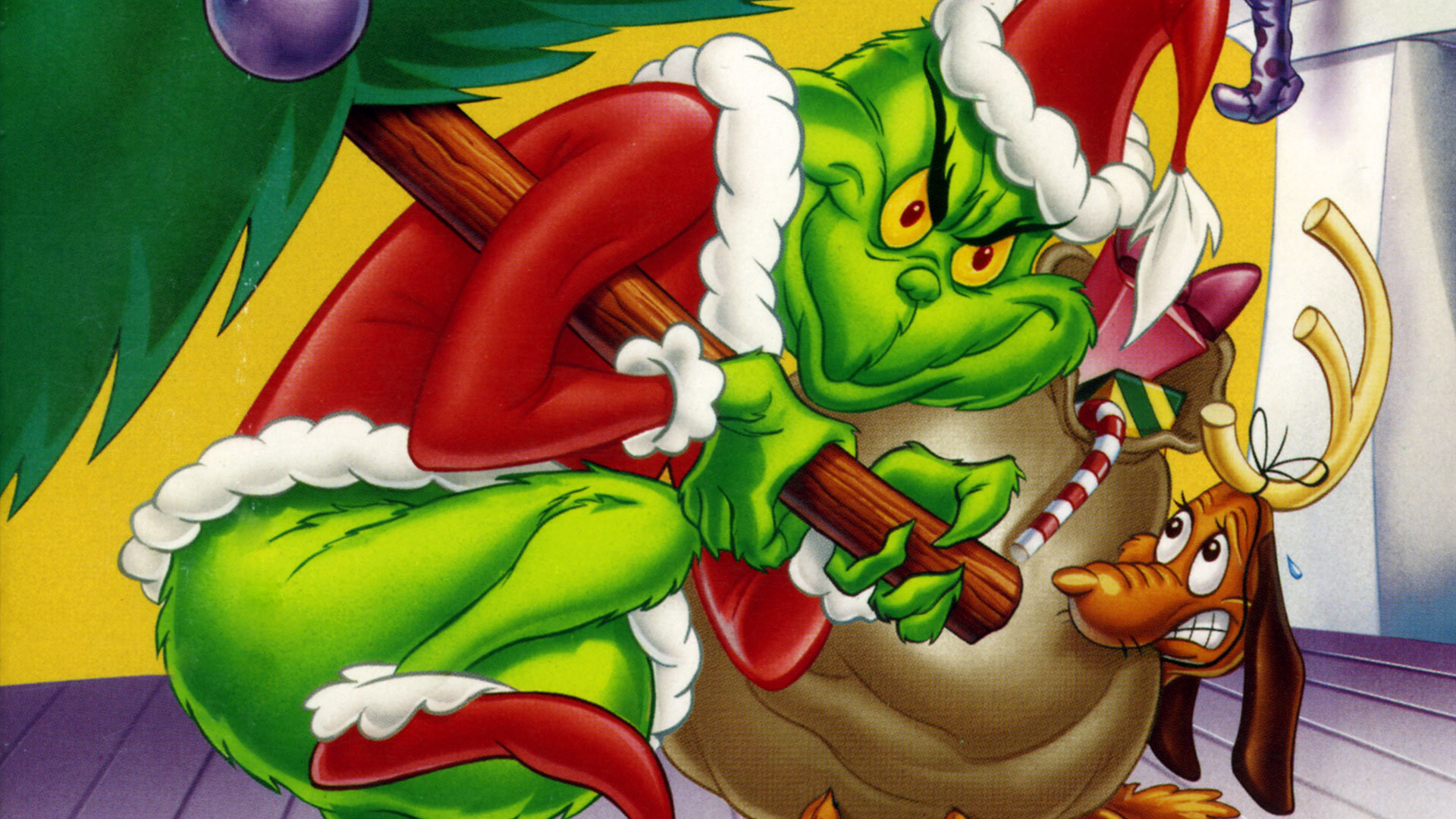 Desktop Christmas Background Grinch Stole Who