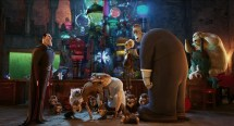 Hotel Transylvania Animated Fantasy Comedy Dark Halloween