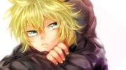 vocaloid kagamine len green eyes