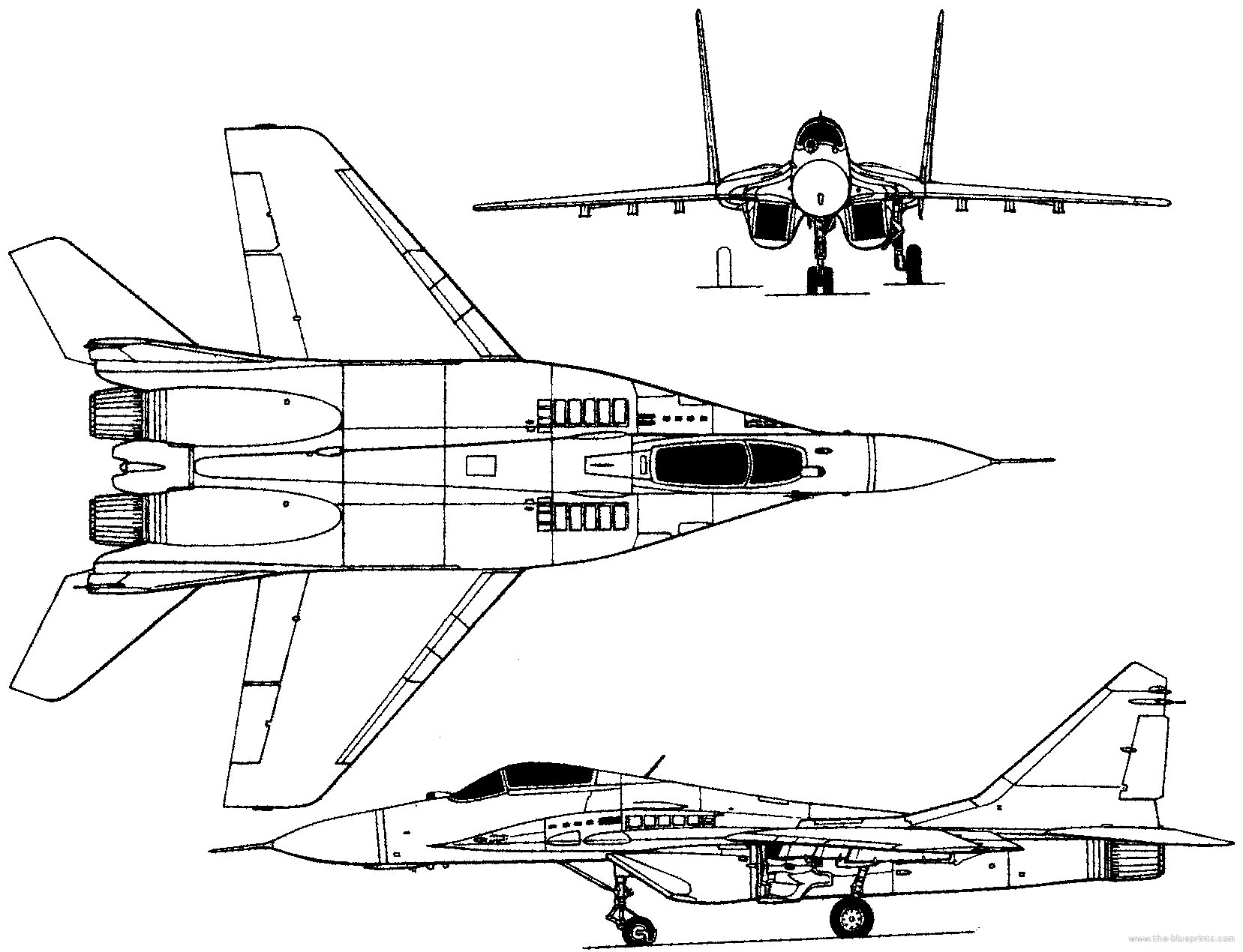 Mig 29 Fighter Jet Military Russian Airplane Plane Mig 12