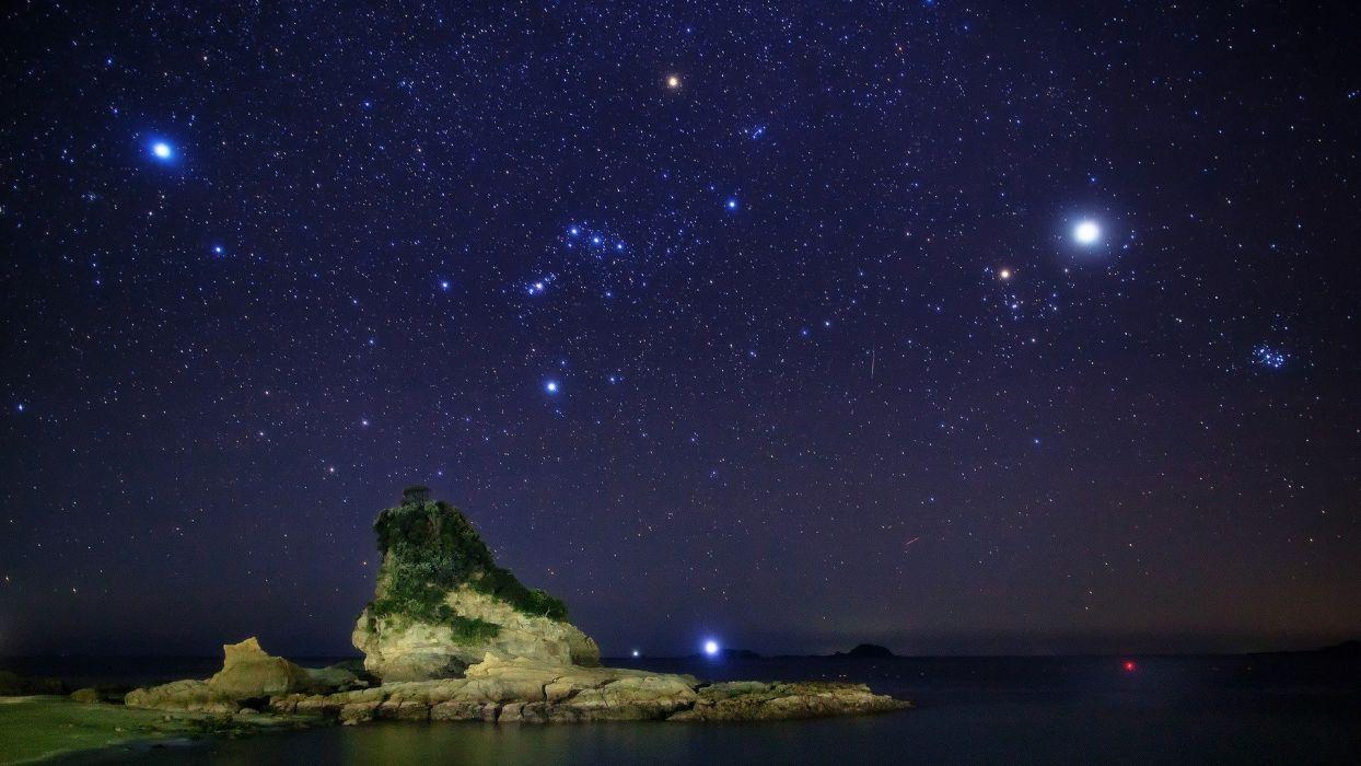 stars night sky wallpaper