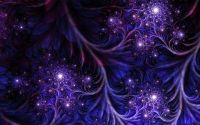Abstract dark purple fractal wallpaper   1680x1050 ...