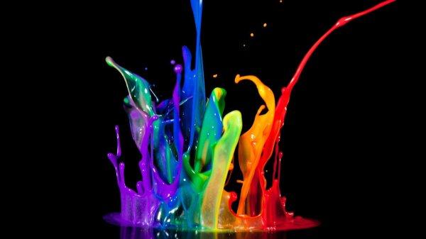 Paint Colors Splashes Wallpaper 1920x1080 301633 Wallpaperup