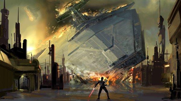 Star Wars Digital Art Artwork Wallpaper 1920x1080