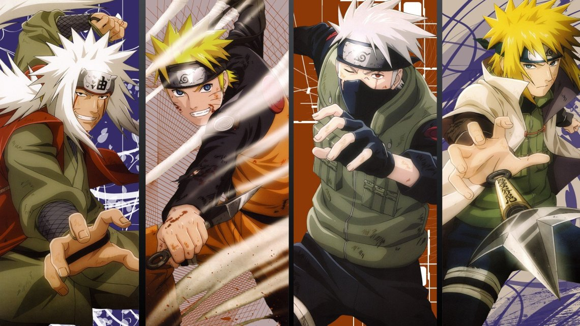 Naruto Shippuden Kunai Anime Minato Namikaze Uzumaki Naruto Kakashi Hatake Jiraiya Wallpaper 1920x1080 308884 Wallpaperup