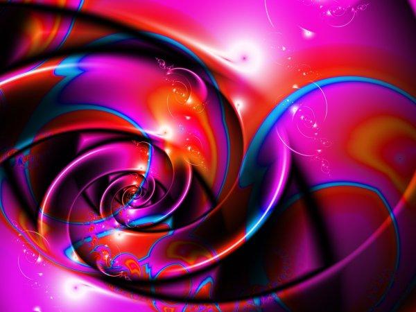 Abstract Fractals Swirls Spirals Wallpaper 2560x1920